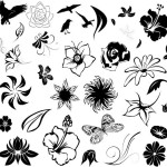 black white small tattoo ideas