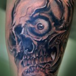 flaming-Skull-Tattoos