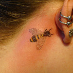 insect small tattoo