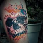 realistic_skull_tattoo