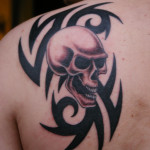 skull-tattoo-design-tribal