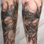 skull-tattoos-scary