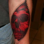 skull-zipper-tattoo