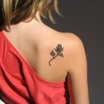 small flower design tattoos ideas