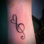 small music tattoos ideas