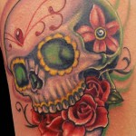 sugar-skull-and-rose