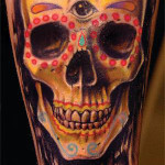 sugar-skull-tattoo-mexican