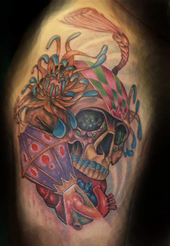 Sugar skull tattoo tattoo love for Skull love tattoos