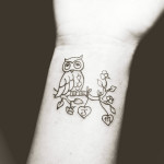 wrist small tattoos