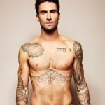 Adam Levine Famous Celebrity Tattoo