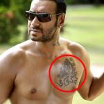 Ajay Devga Famous Celebrity Tattoos