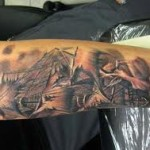Amazing Arm Creative Tattoo Designs - Copy