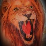 Amazing Arm Lion Tattoo Designs For Men