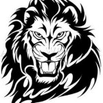 Amazing Black Lion Tattoo Designs For Men