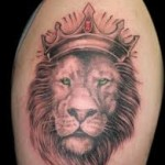 Amazing  Lion Arm Tattoo Designs For Men