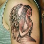 Angel Shoulder Tattoo Designs