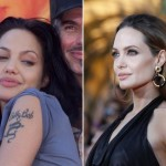Angelina Jolie  Famous Celebrity Tattoo