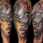 Arm 3 View Half Sleeve Tattoo Designs