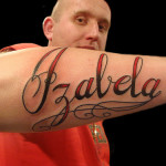 Arm Amazing Name Tattoo Designs
