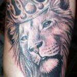 Arm Lion Cool Tattoo Designs For Men