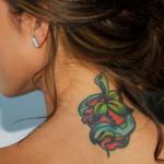 Audrina Patridge Female Celebrity Tattoos