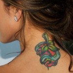 Audrina Patridge Female Celebrity Tattoos