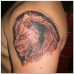 Awesome  Lion Tattoo Designs For Men