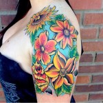 Awesome Lotus Flower Tattoo Designs