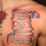Awesome Name Tattoo Designs For Men