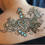 Back Neck New Tattoo Designs For Women