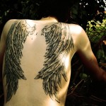 Back Wings New Tattoo Designs