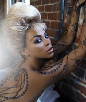 beyonce knowles female celebrity tattoos tattoo love. Black Bedroom Furniture Sets. Home Design Ideas