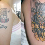 Big Cover  Up Tattoo