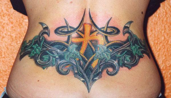 big lower back tattoo designs tattoo love. Black Bedroom Furniture Sets. Home Design Ideas