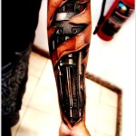 Biomechanical New Tattoo Designs