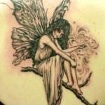 Black Angel Art Tattoo Designs