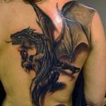 Black Dragon Cool Tattoo Designs