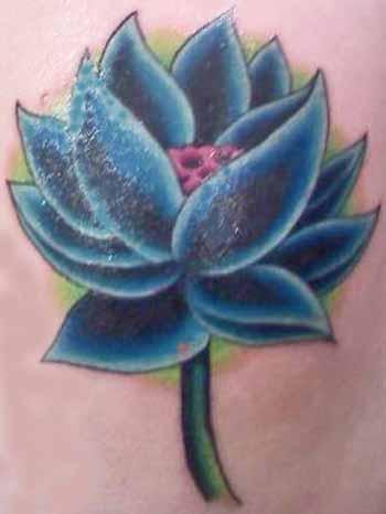 Blue Lotus Flower Small Tattoo Designs Tattoo Love