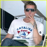 Brad Pitt Famous Celebrity Tattoo