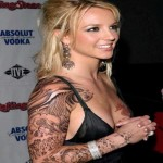Britney Spears Female Celebrity Tattoos
