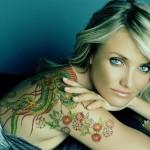 female celebrity tattoos