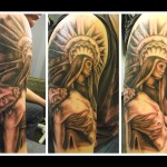 Christian Full Sleeve Tattoo Designs For Men