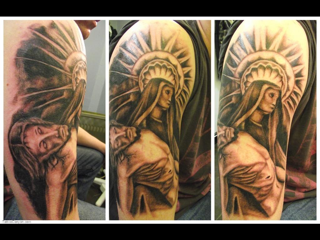 53de7de01 Christian Full Sleeve Tattoo Designs For Men | Tattoo Love