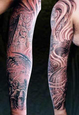 classic full sleeve tattoo designs for men tattoo love. Black Bedroom Furniture Sets. Home Design Ideas