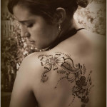 Cool Back New Tattoo Designs For Girls