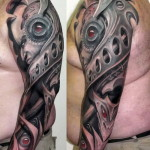 Cool Full Sleeve Tattoo Designs For Men