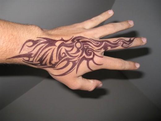 Cool Hand Tribal Dragon Tattoo   Tattoo Love