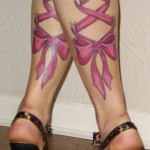 Cool Ribbon Tattoo Designs For Girls
