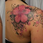 Cool Shoulder Tattoo Designs For Women