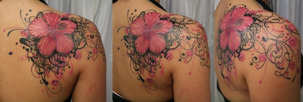 Cool Shoulder Tattoo Designs For Women Tattoo Love